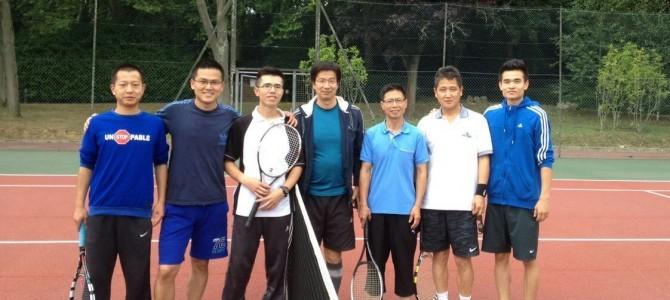 2015旅法网球友谊赛战况